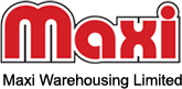 maxi warehousing logo