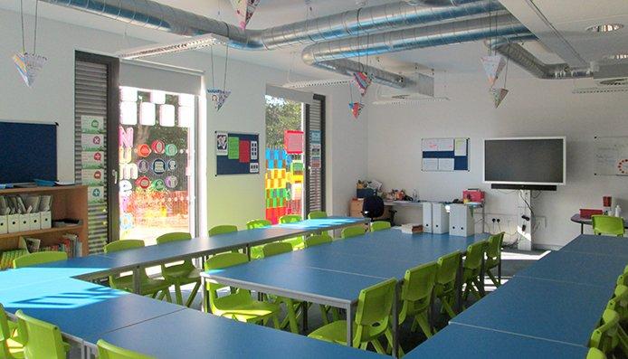 Classroom Blocks Edinburgh Maxi Construction