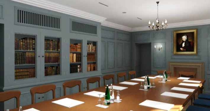 Panmure House Reading Room