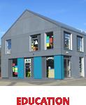education primary school classroom block