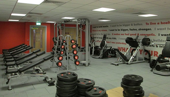 Alterations and fit out of leisure sports centre
