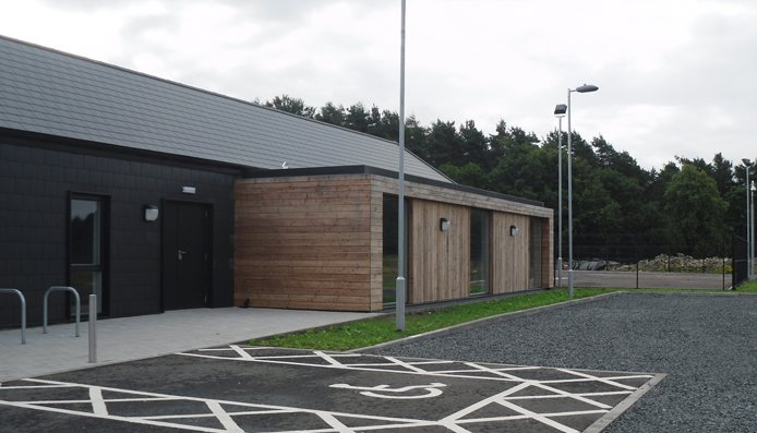 community training facility lanark