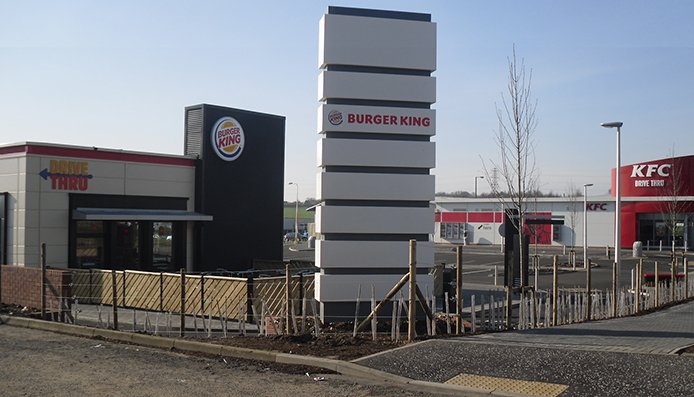 design and build drive thru fast food units