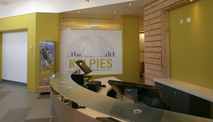 kelpies visitor centre