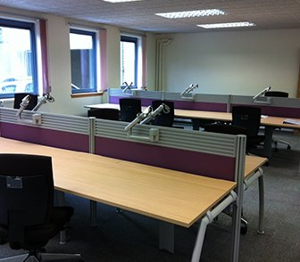 westfield house office refurbishment