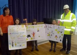 Kirknewton Primary School Safety Poster Design Competition Winners