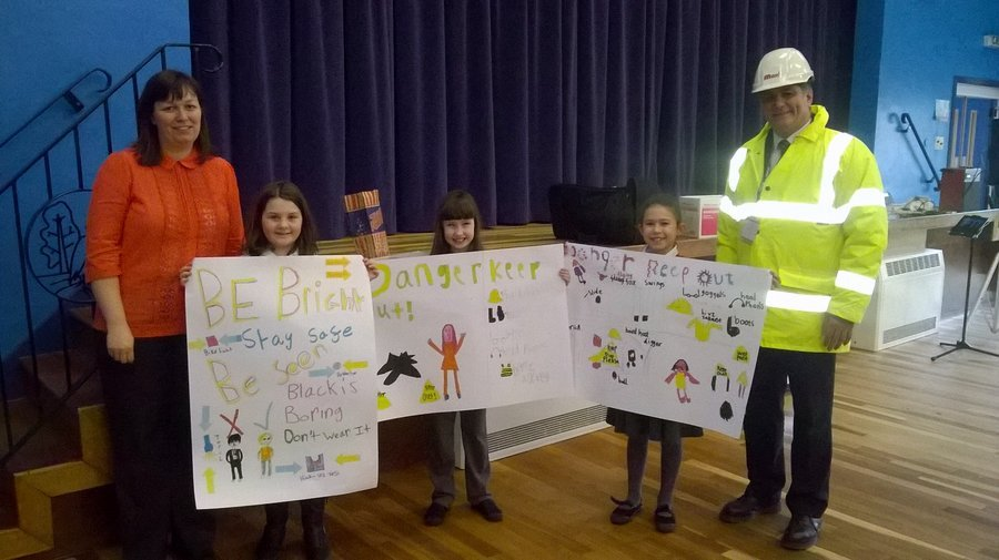 Kirknewton PS Safety Poster Competition Winners