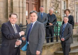 Maxi Construction Key Handover Linlithgow Partnership Centre