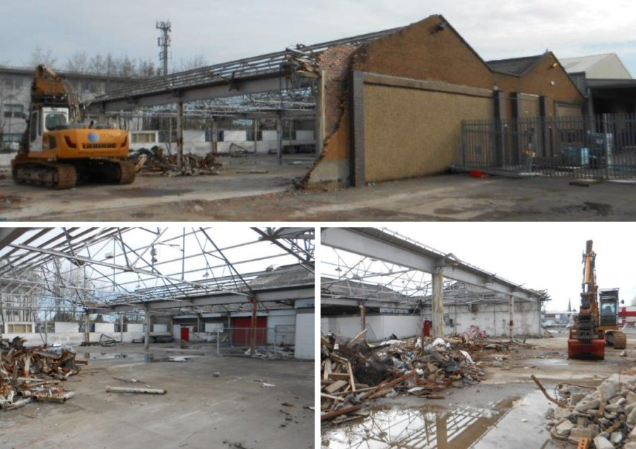 Maxi Haulage depot bellshill