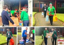 Maxi Construction Christmas 2019 foodbank donation