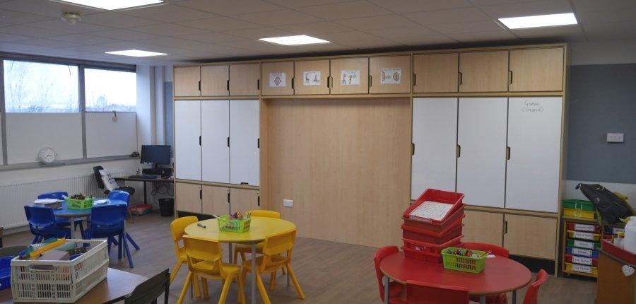 craigbank primary school classroom