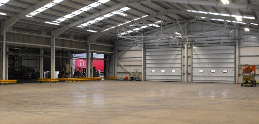 design & build warehouse bellshill